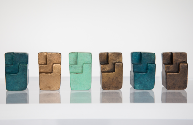 Color Collection Cubes - Bronce